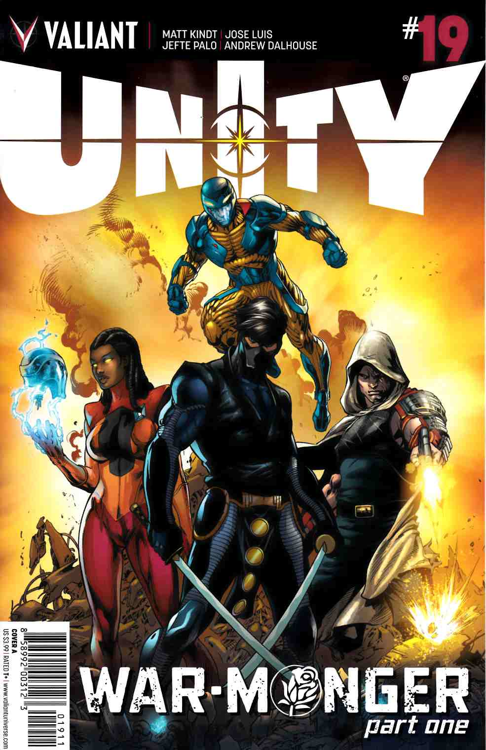 Unity #19 Cover A- Bernard [Valiant Comic] THUMBNAIL