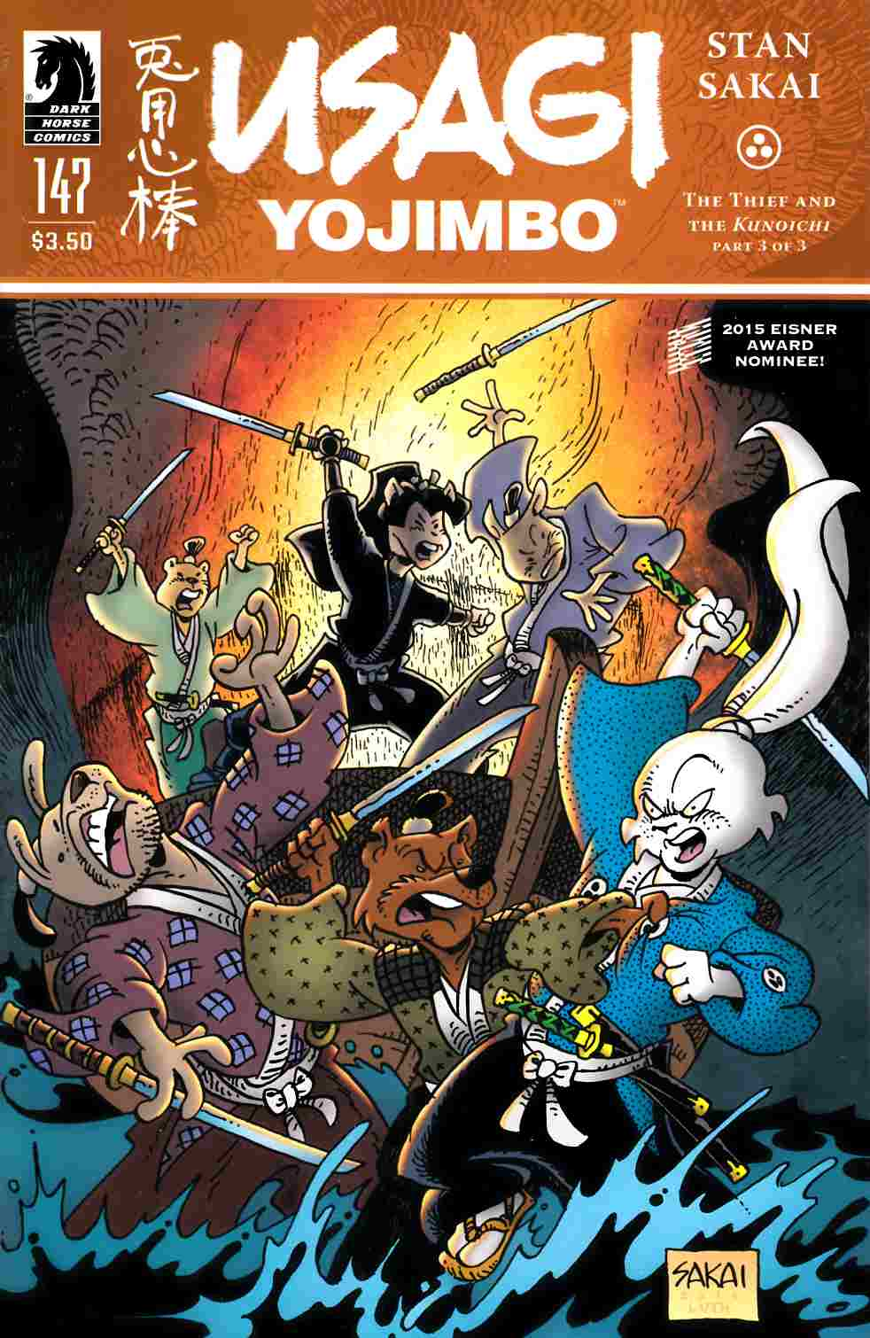 Usagi Yojimbo #147 [Dark Horse Comic] THUMBNAIL