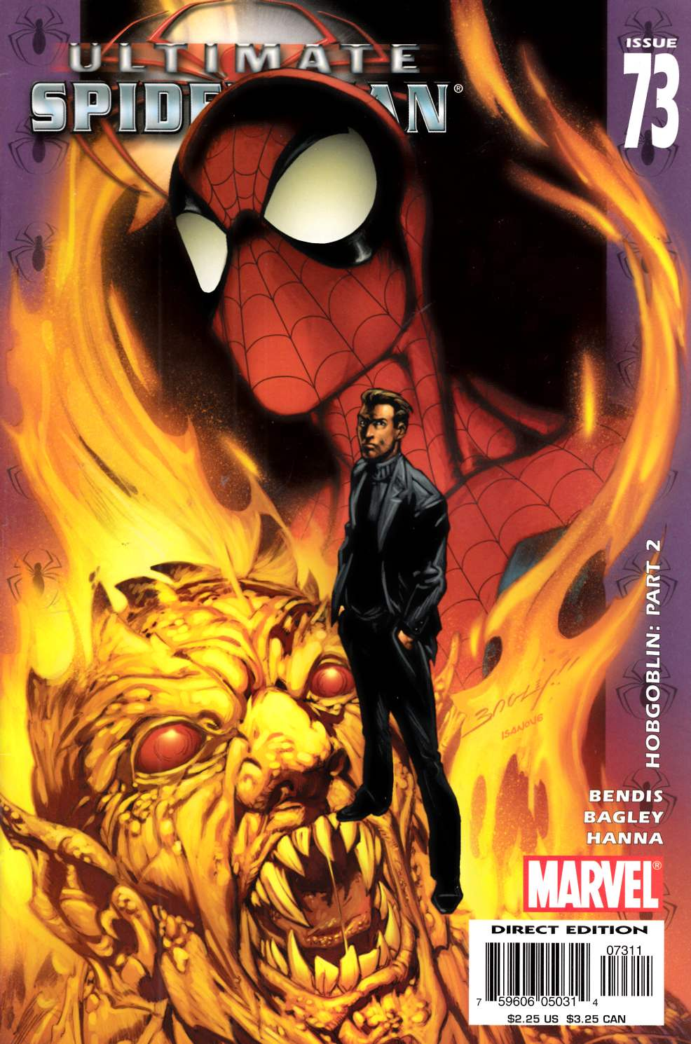 Ultimate Spider-Man #73 Very Fine (8.0) [Marvel Comic] LARGE