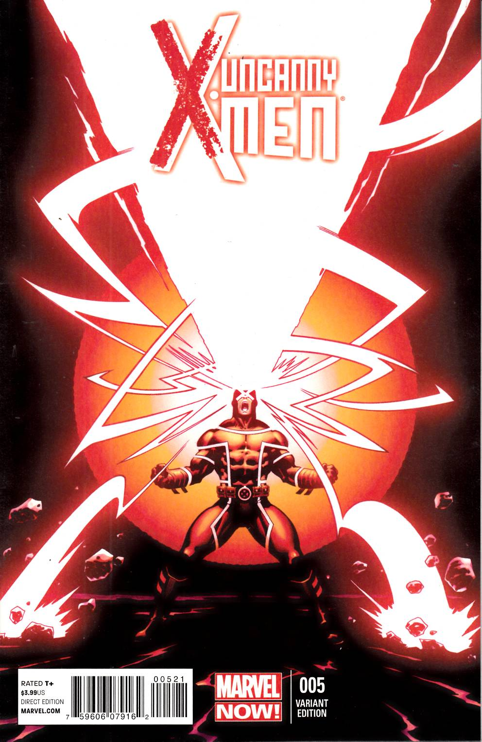 Uncanny X-Men #5 McGuinness Variant Cover Near Mint (9.4) [Marvel Comic] LARGE