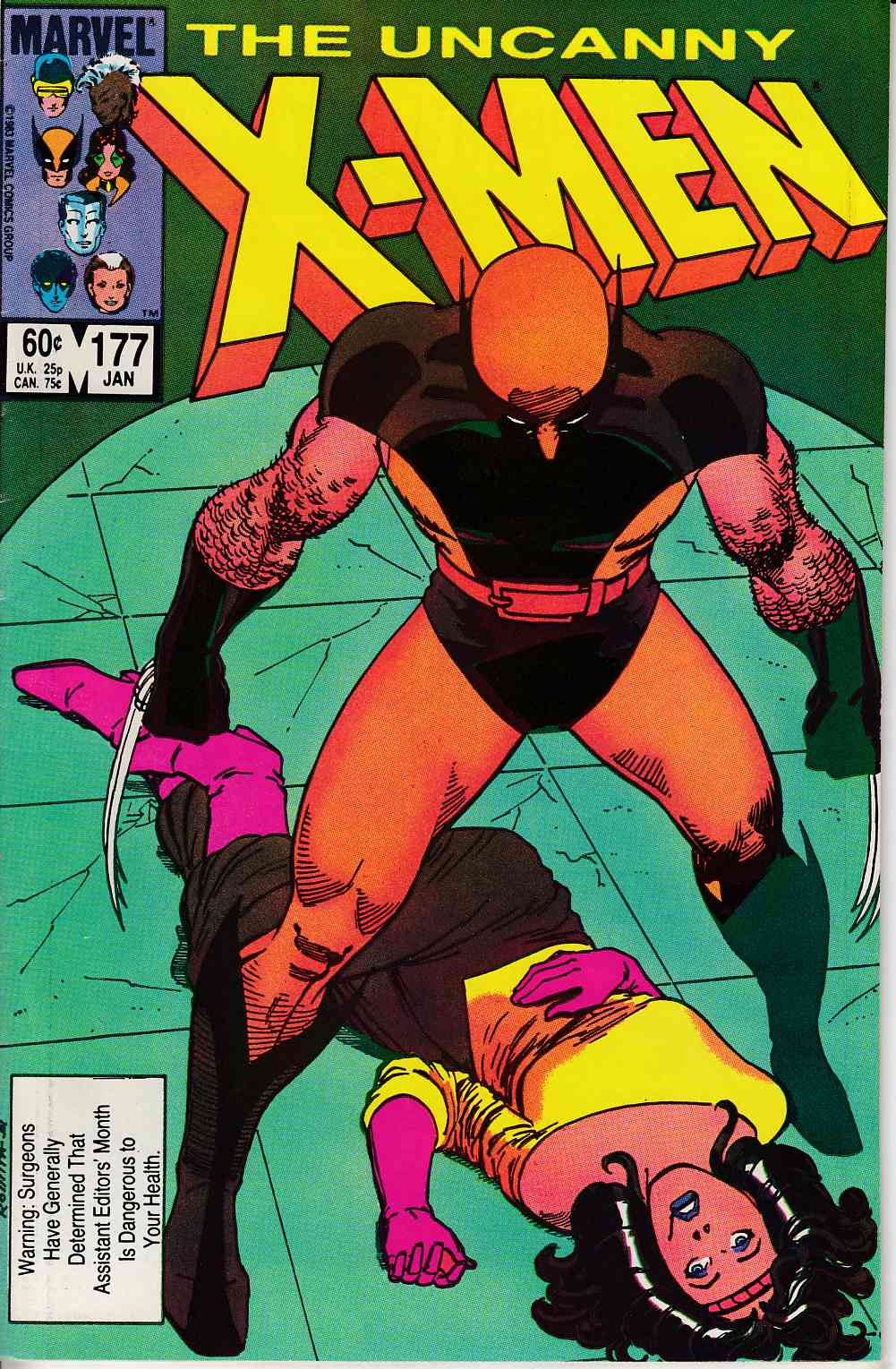 Uncanny X-Men #177 Fine/Very Fine (7.0) [Marvel Comic] LARGE