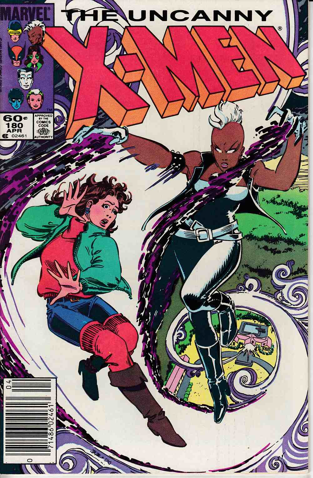 Uncanny X-Men #180 Newsstand Edition Very Fine (8.0) [Marvel Comic]