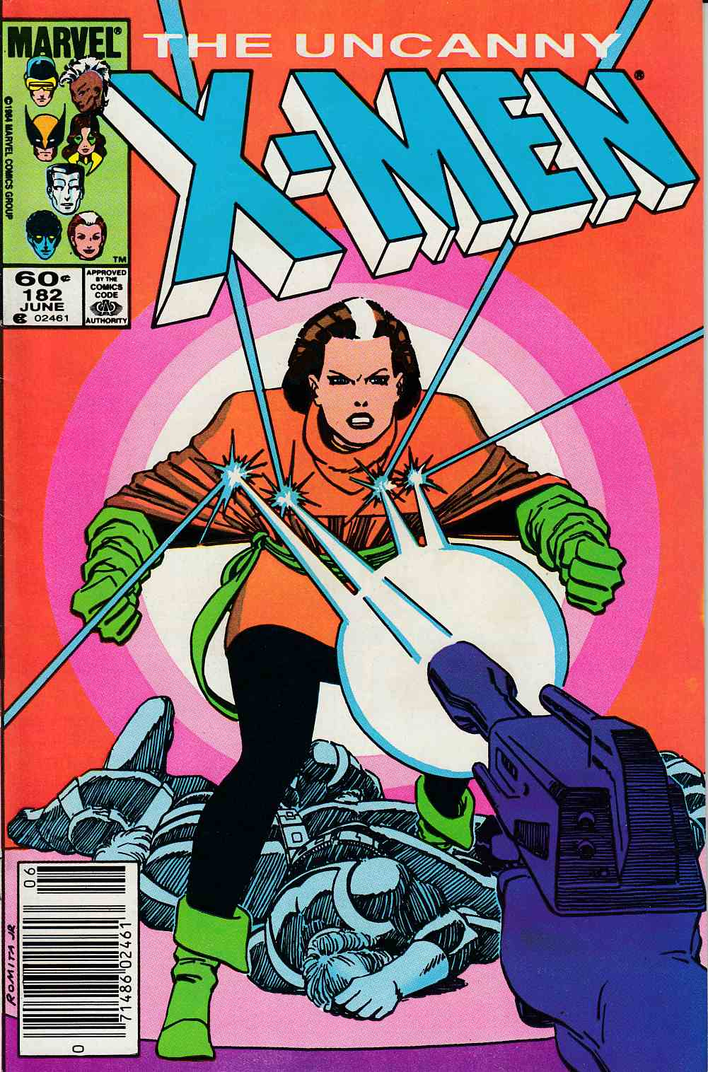 Uncanny X-Men #182 Newsstand Edition Fine (6.0) [Marvel Comic]