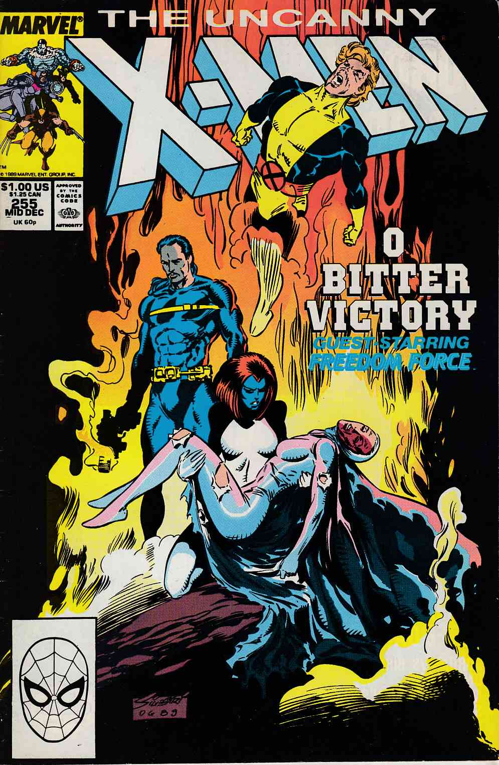 Uncanny X-Men #255 Very Fine (8.0) [Marvel Comic] LARGE