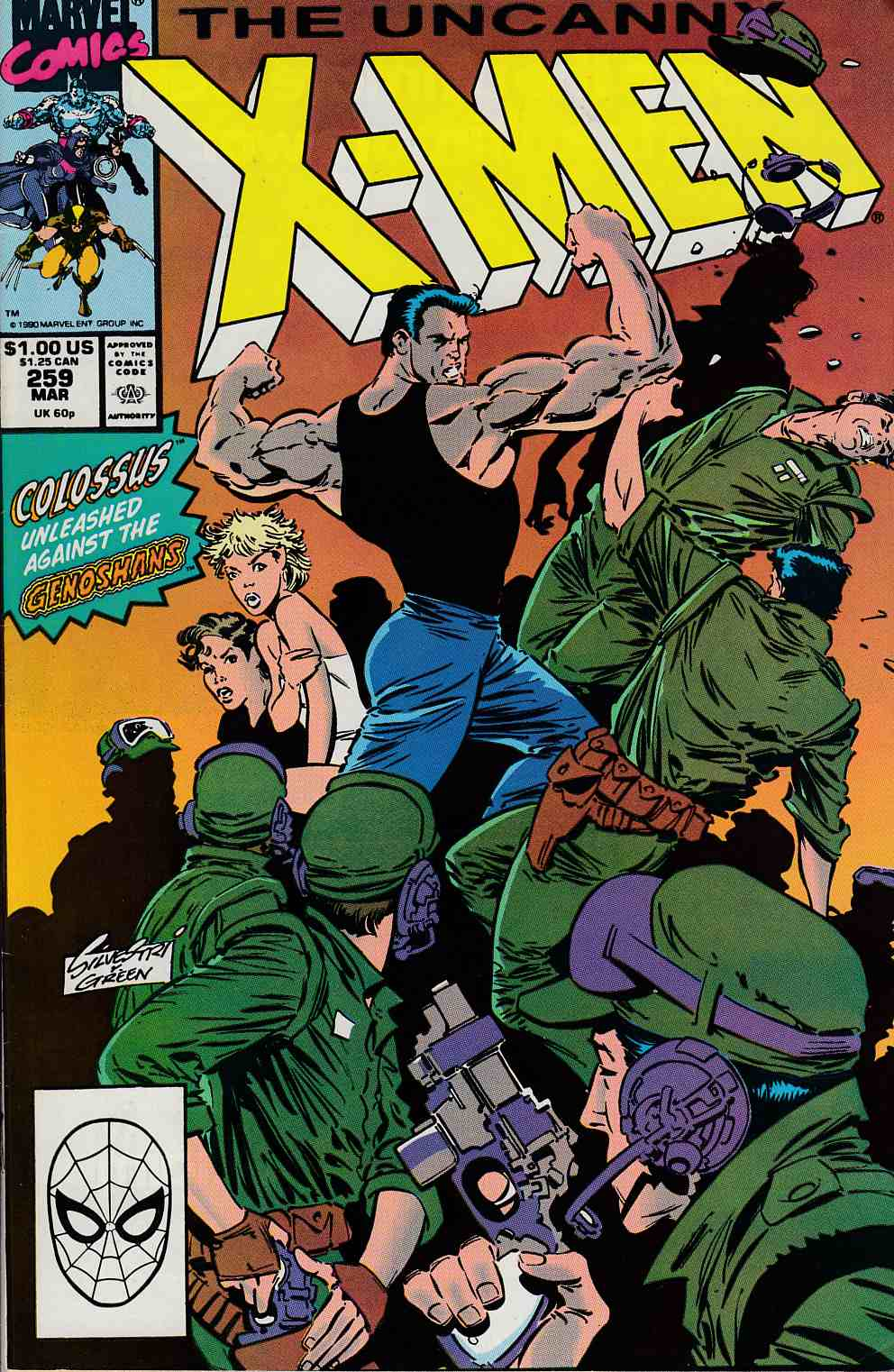 Uncanny X-Men #259 Very Fine (8.0) [Marvel Comic] LARGE