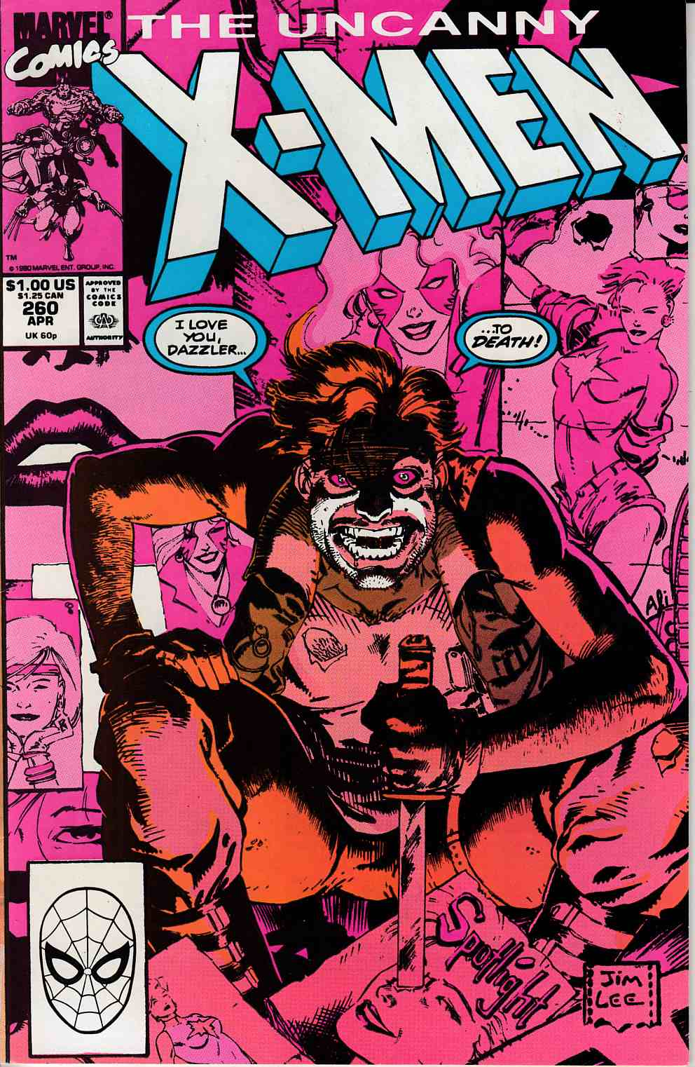 Uncanny X-Men #260 Very Fine (8.0) [Marvel Comic] LARGE