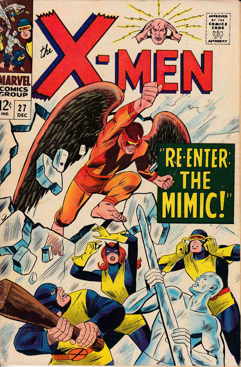 Uncanny X-Men #27 Good Plus (2.5) [Marvel Comic] THUMBNAIL