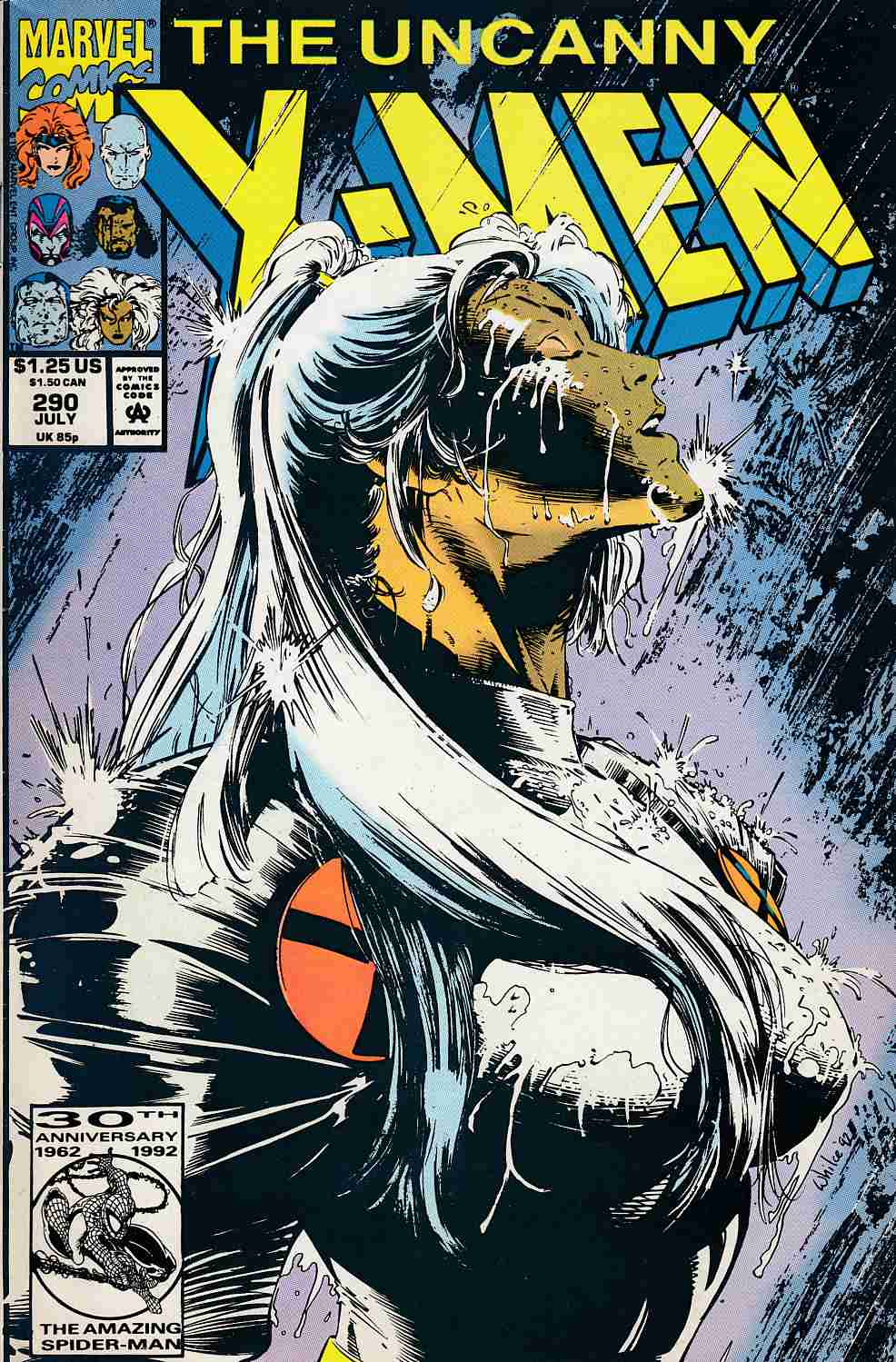 Uncanny X-Men #290 Very Fine Minus (7.5) [Marvel Comic] LARGE