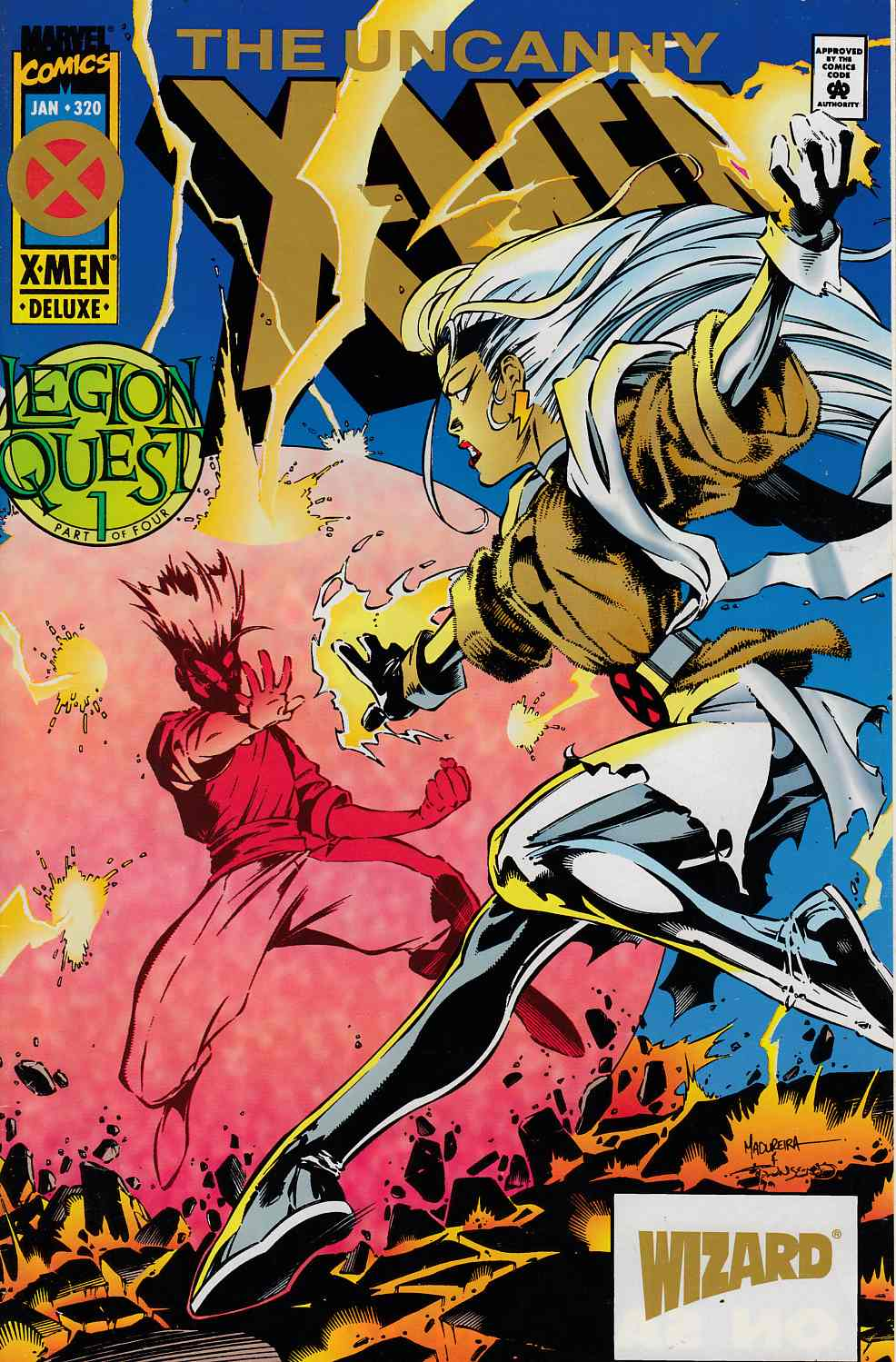 Uncanny X-Men #320 Wizard Gold Edition Very Fine (8.0) [Marvel Comic] LARGE
