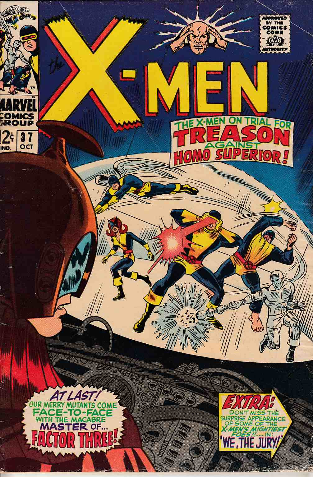 Uncanny X-Men #37 Good Plus (2.5) [Marvel Comic] THUMBNAIL