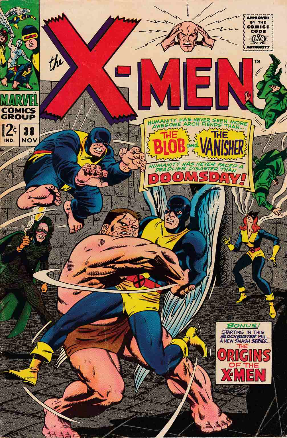 Uncanny X-Men #38 Very Good (4.0) [Marvel Comic] THUMBNAIL