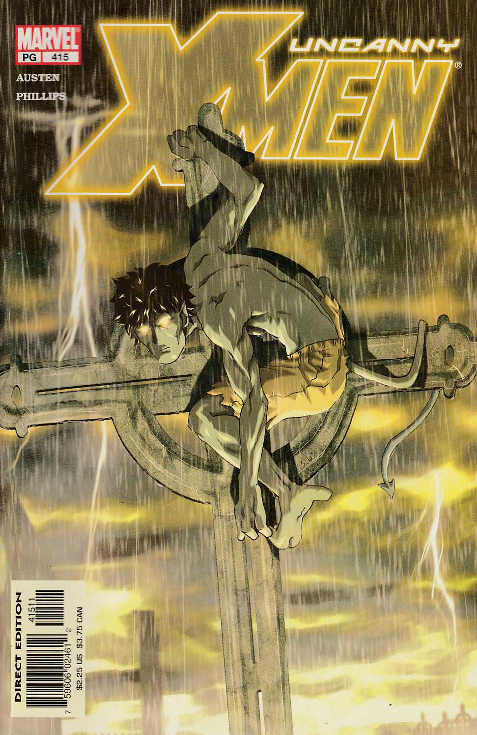 Uncanny X-Men #415 Near Mint (9.4) [Marvel Comic] LARGE