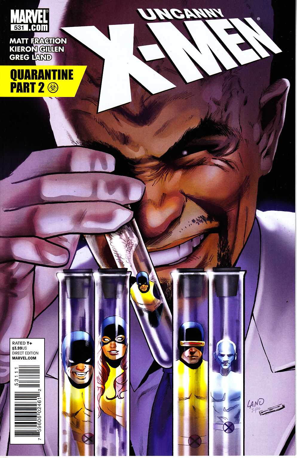 Uncanny X-Men #531 Very Fine (8.0) [Marvel Comic] LARGE