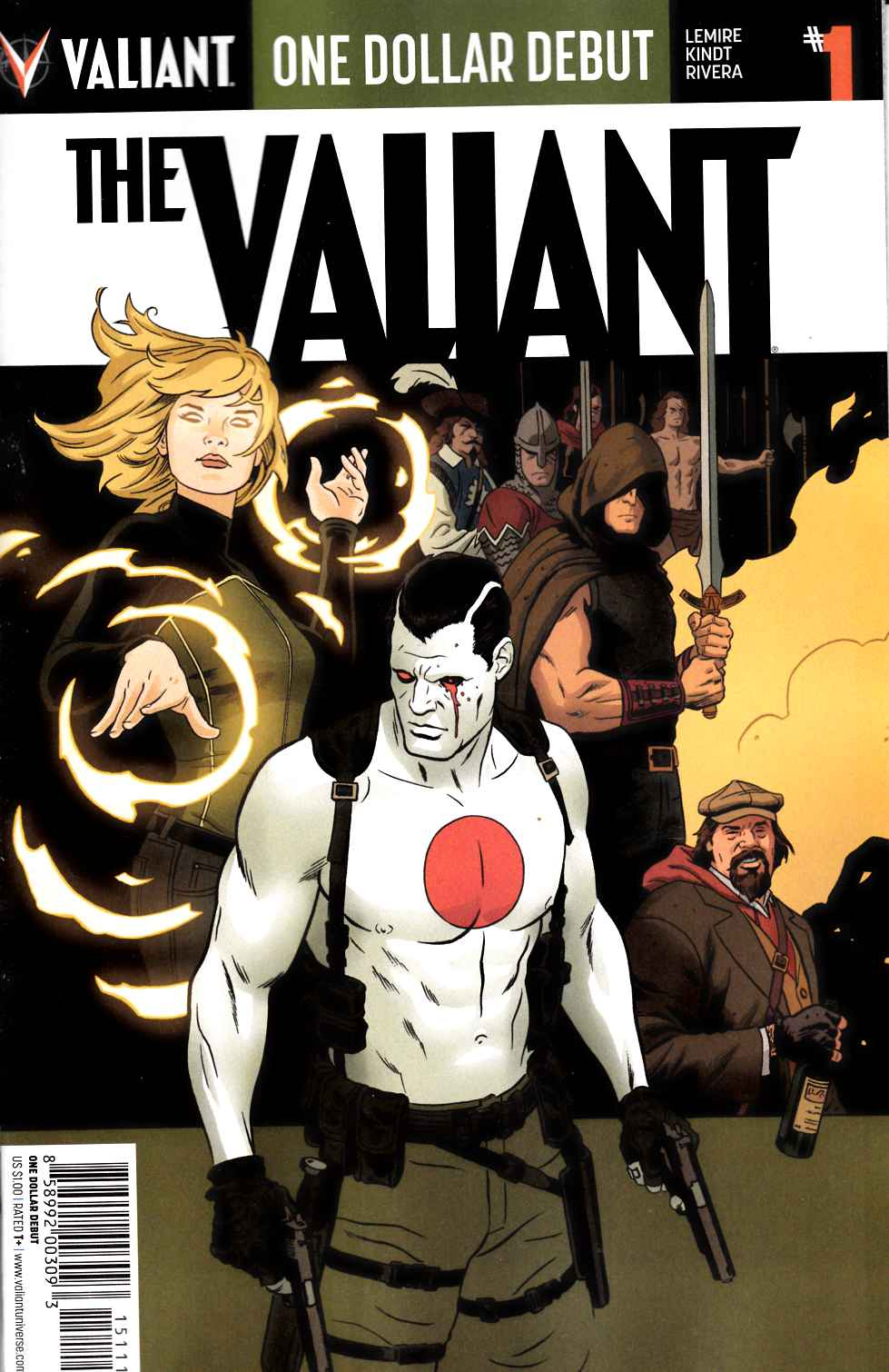 The Valiant #1 One Dollar Debut Edition [Valiant Comic]_LARGE