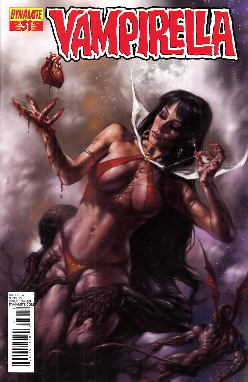 Vampirella #31 Parrillo Cover Very Fine (8.0) [Dynamite Comic] THUMBNAIL