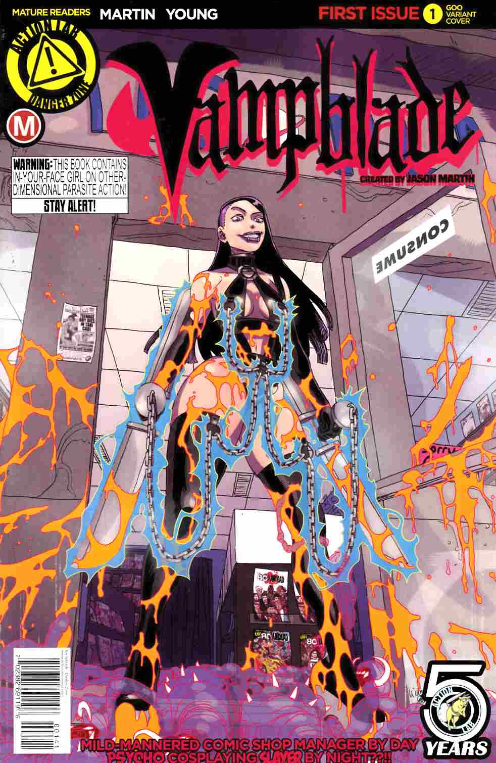 Vampblade #1 Goo Incentive Cover [Action Lab Comic] THUMBNAIL