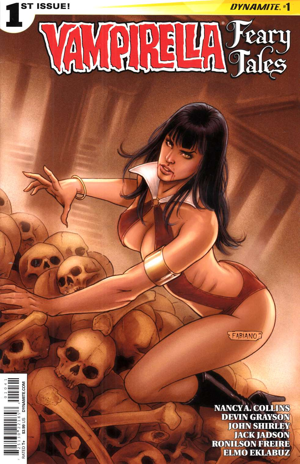 Vampirella Feary Tales #1 Cover D Neves Near Mint (9.4) [Dynamite Comic] THUMBNAIL