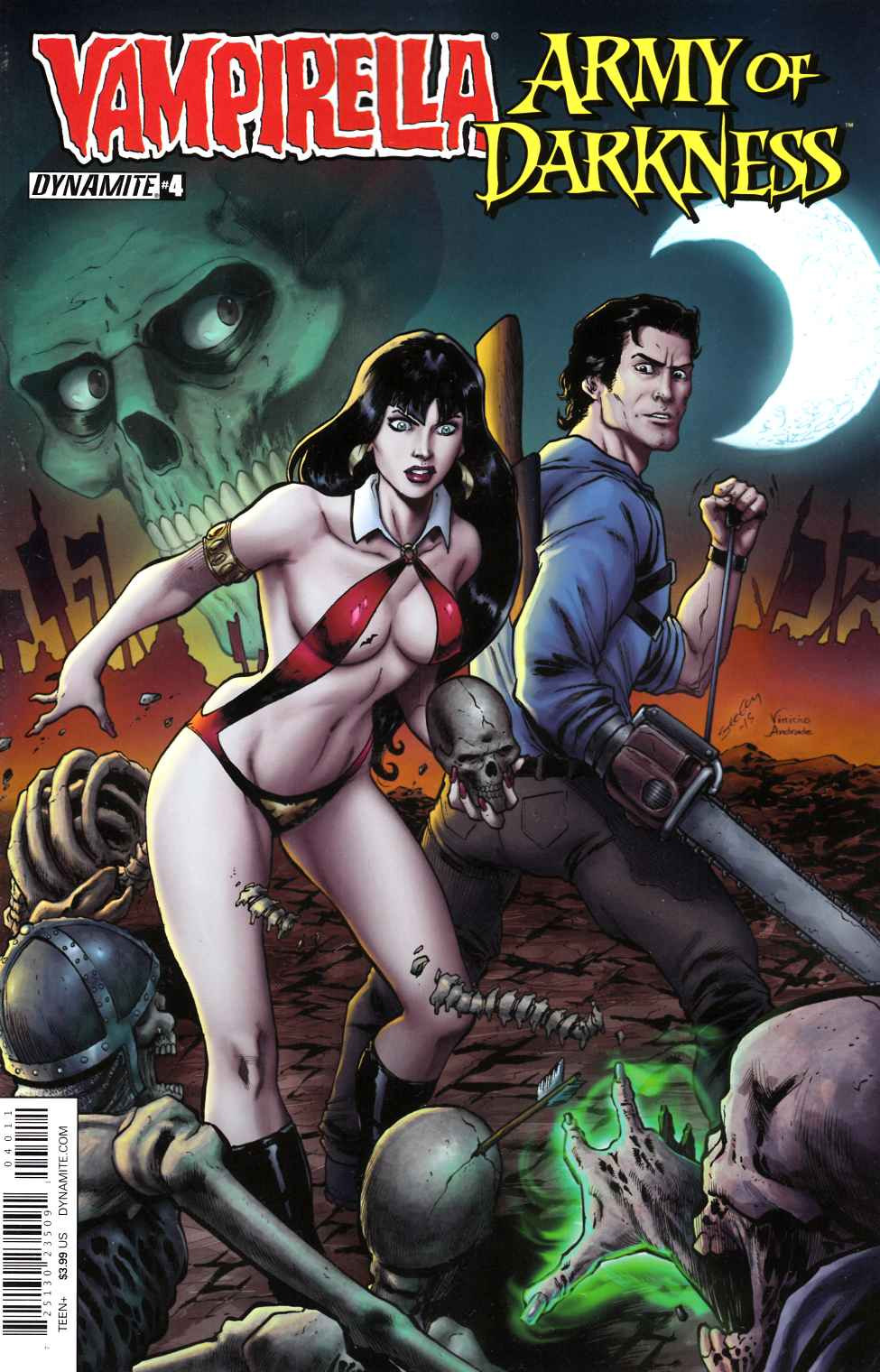 Vampirella Army of Darkness #4 Cover A [Dynamite Comic]_THUMBNAIL