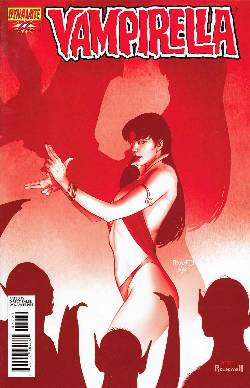 Vampirella #22 Renaud Red Incentive Cover [Comic] LARGE