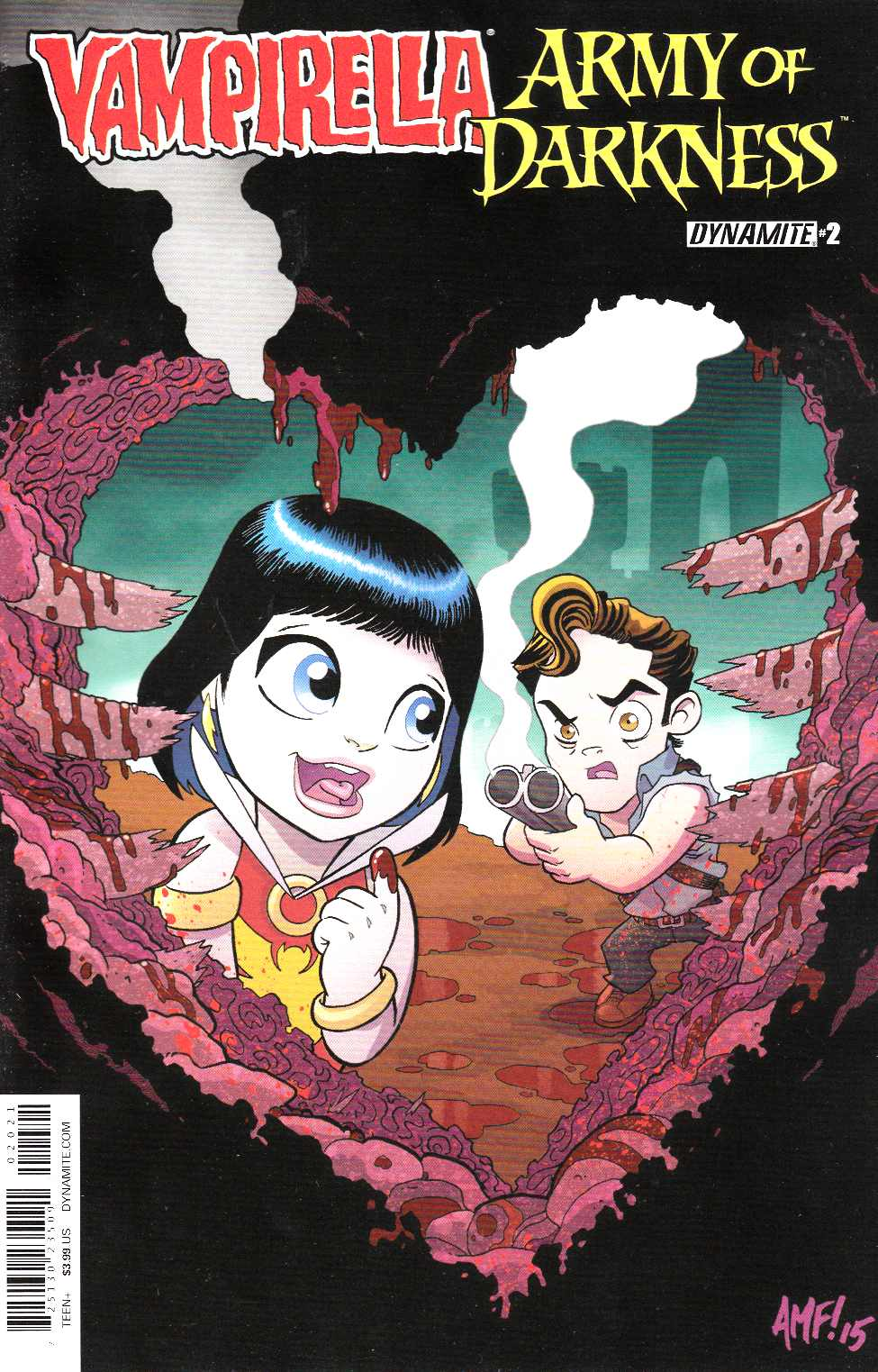 Vampirella Army of Darkness #2 Cover B- Subscription [Dynamite Comic]_THUMBNAIL