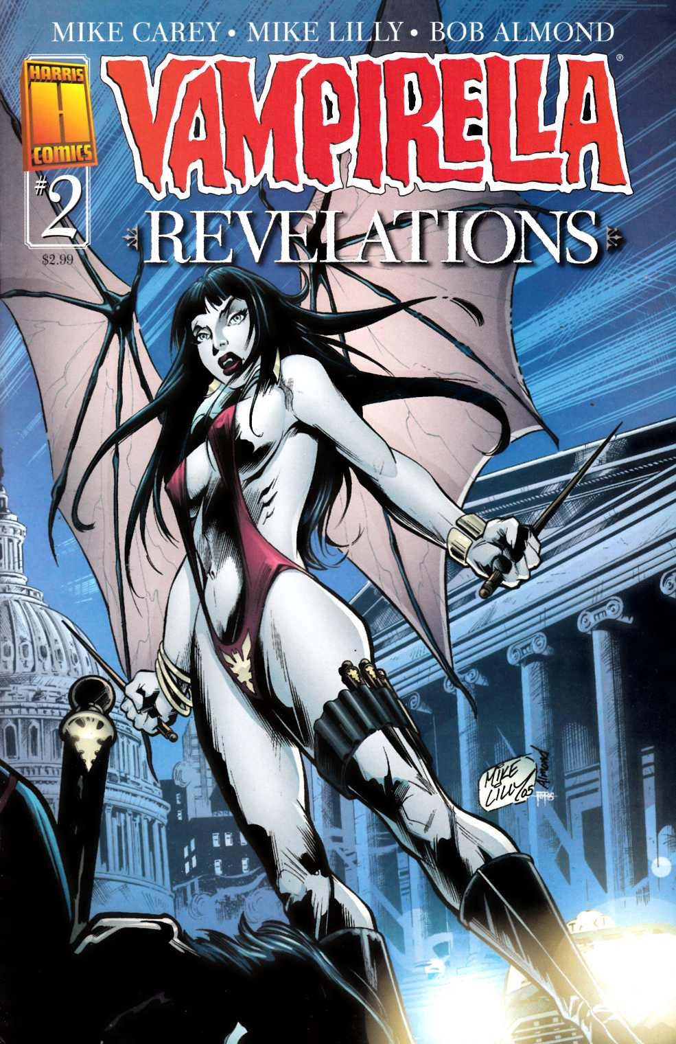 Vampirella Revelations #2 Cover A Near Mint Minus (9.2) [Harris Comic] LARGE