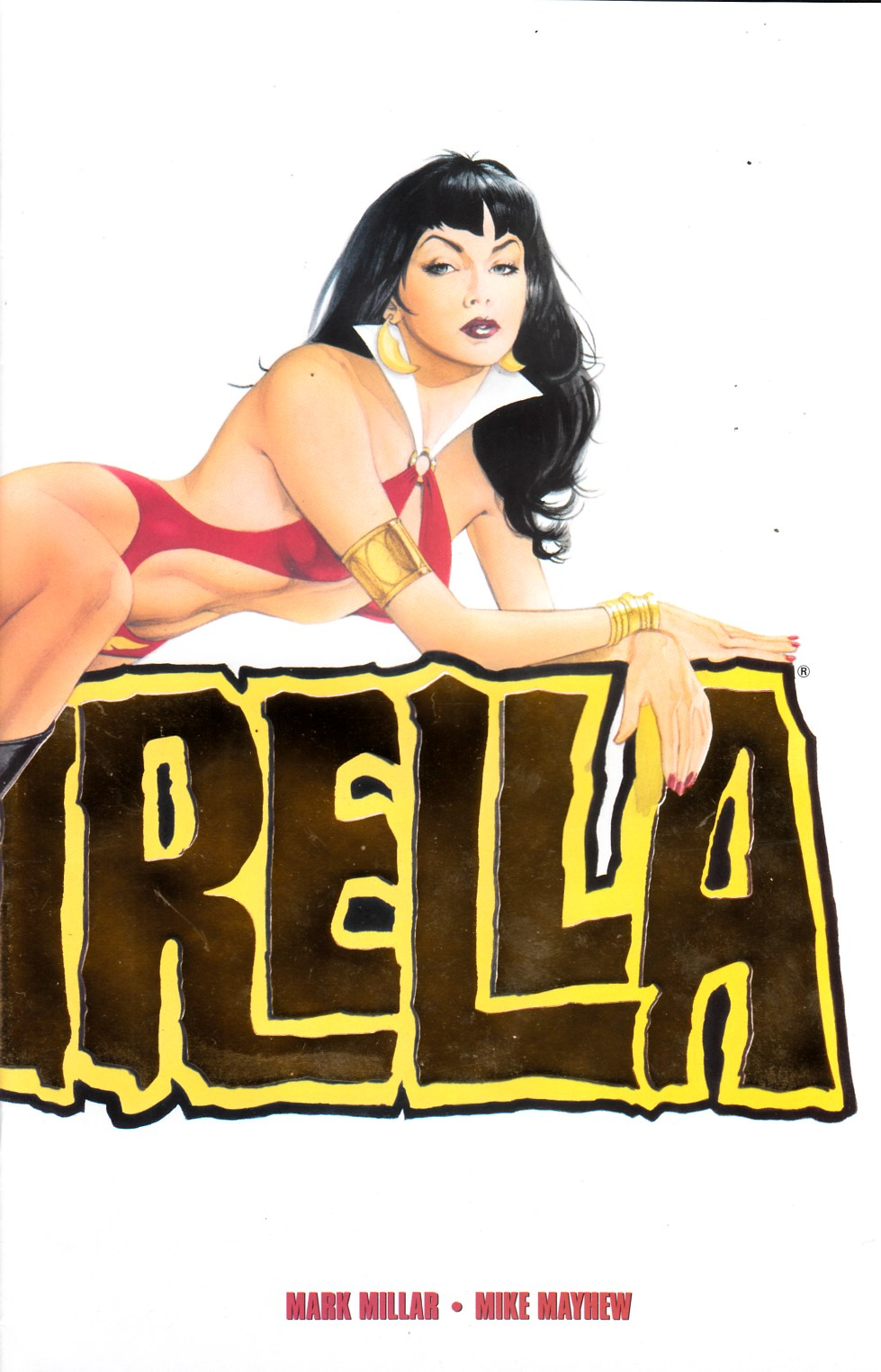 Vampirella #1 Gold Logo Edition Very Fine (8.0) [Harris Comic] THUMBNAIL
