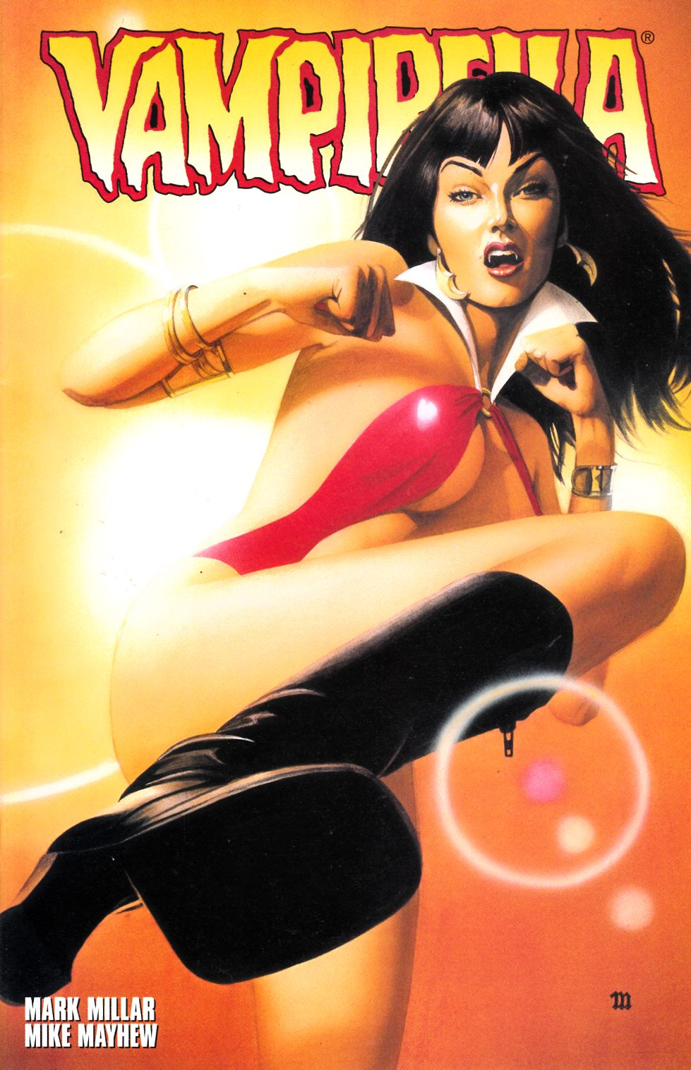 Vampirella #2 Very Fine (8.0) [Harris Comic] LARGE