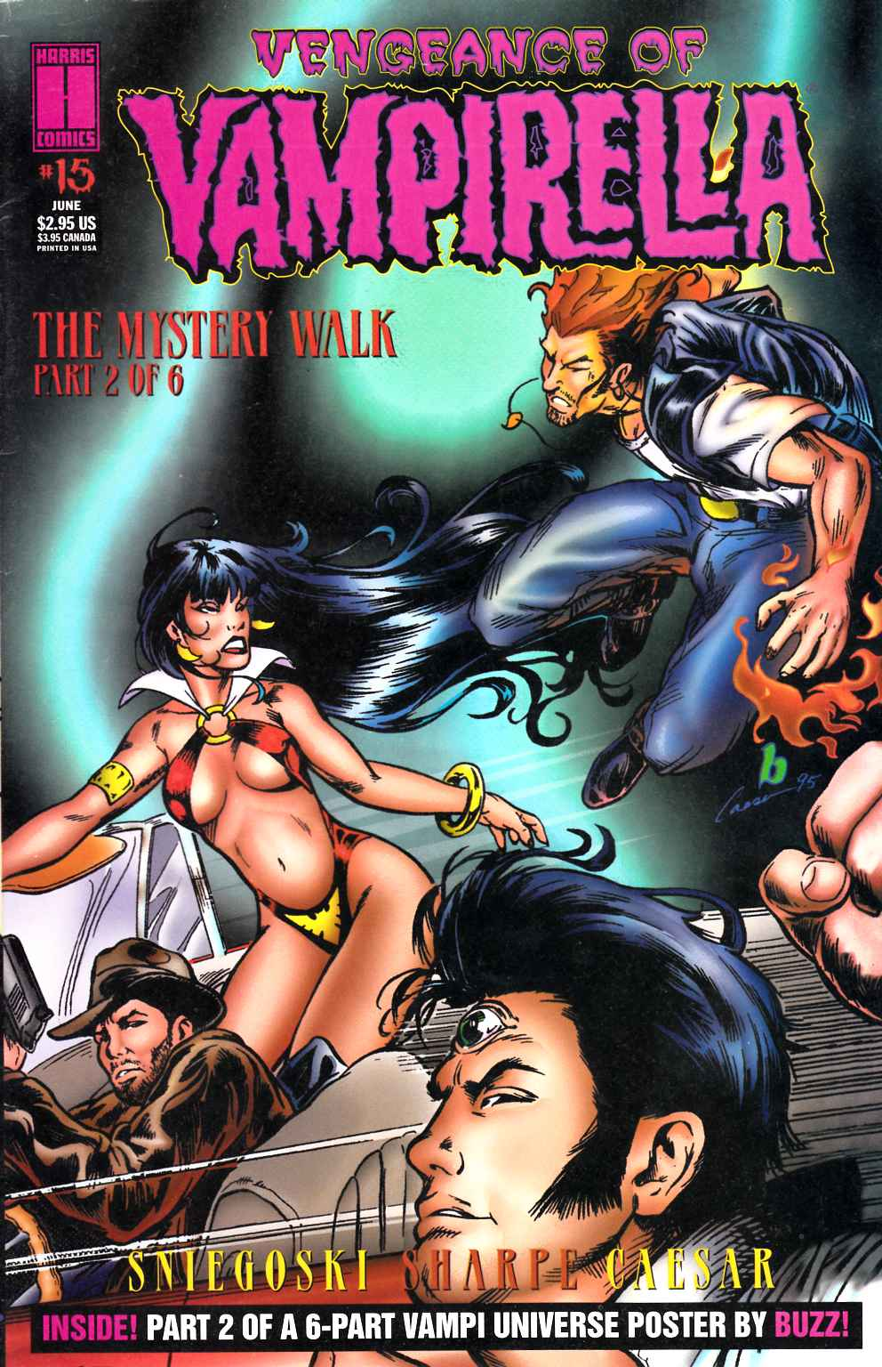 Vengeance of Vampirella #15 Cover A Very Fine (8.0) [Harris Comic] THUMBNAIL
