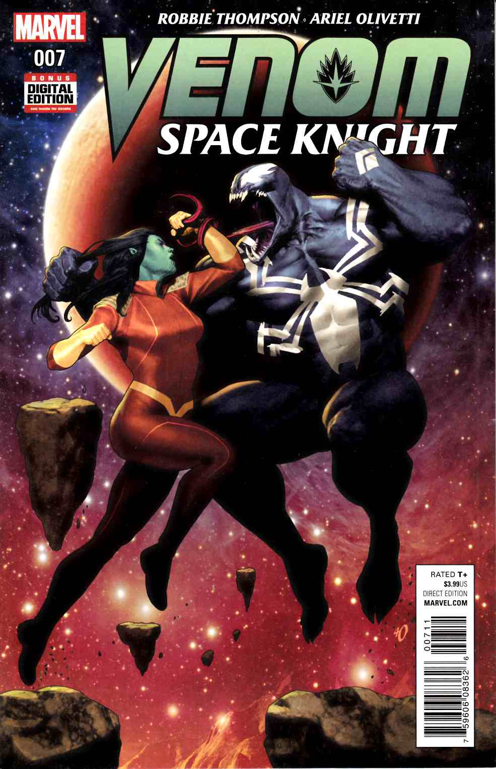 Venom Space Knight #7 [Marvel Comic] THUMBNAIL