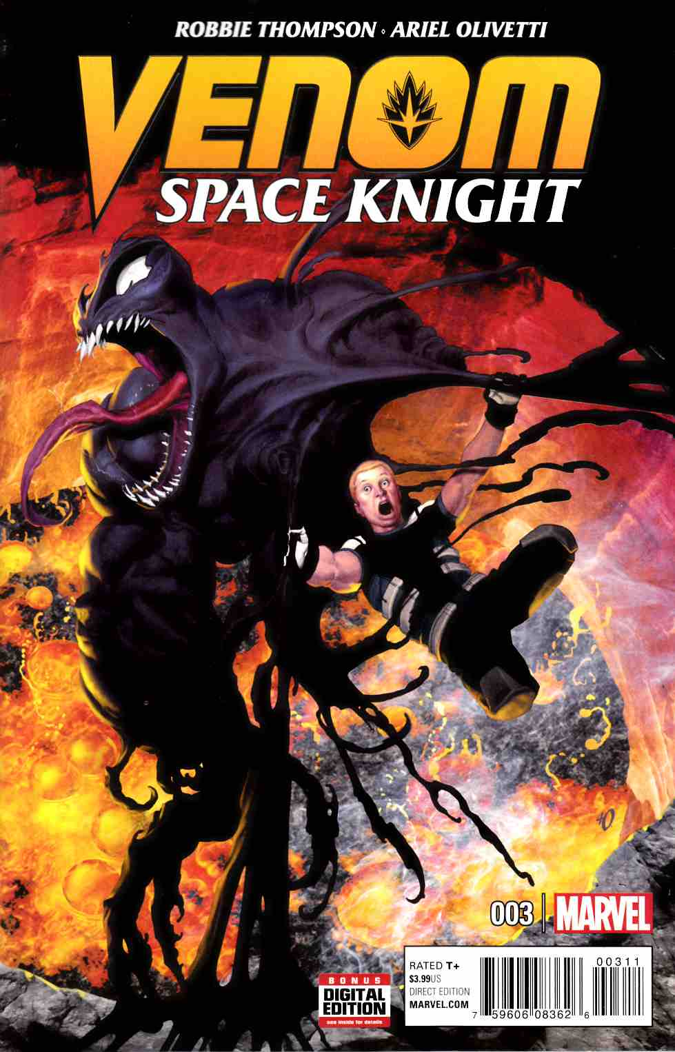 Venom Space Knight #3 [Marvel Comic] THUMBNAIL
