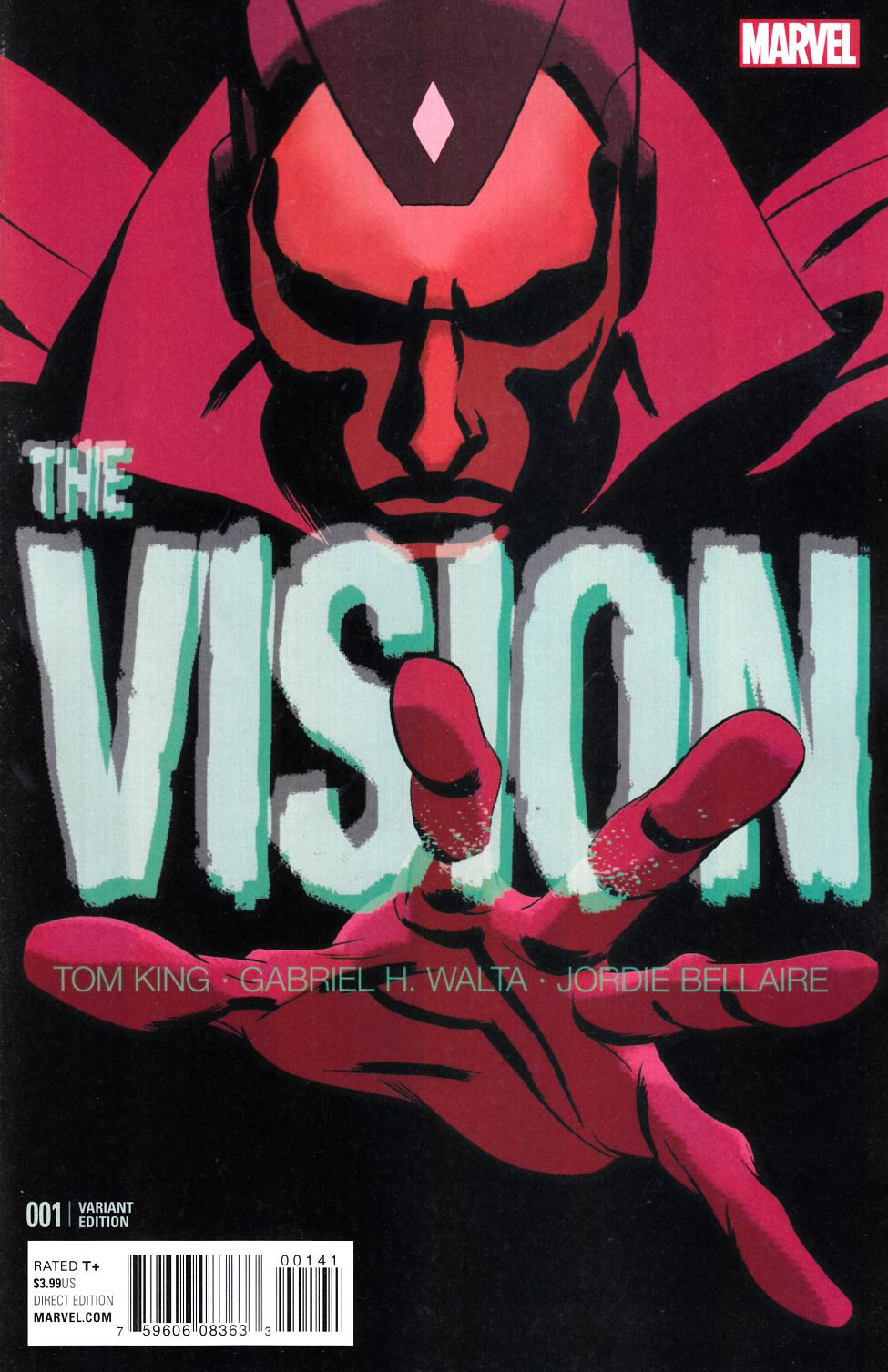 Vision #1 Martin Variant Cover [Marvel Comic]_LARGE