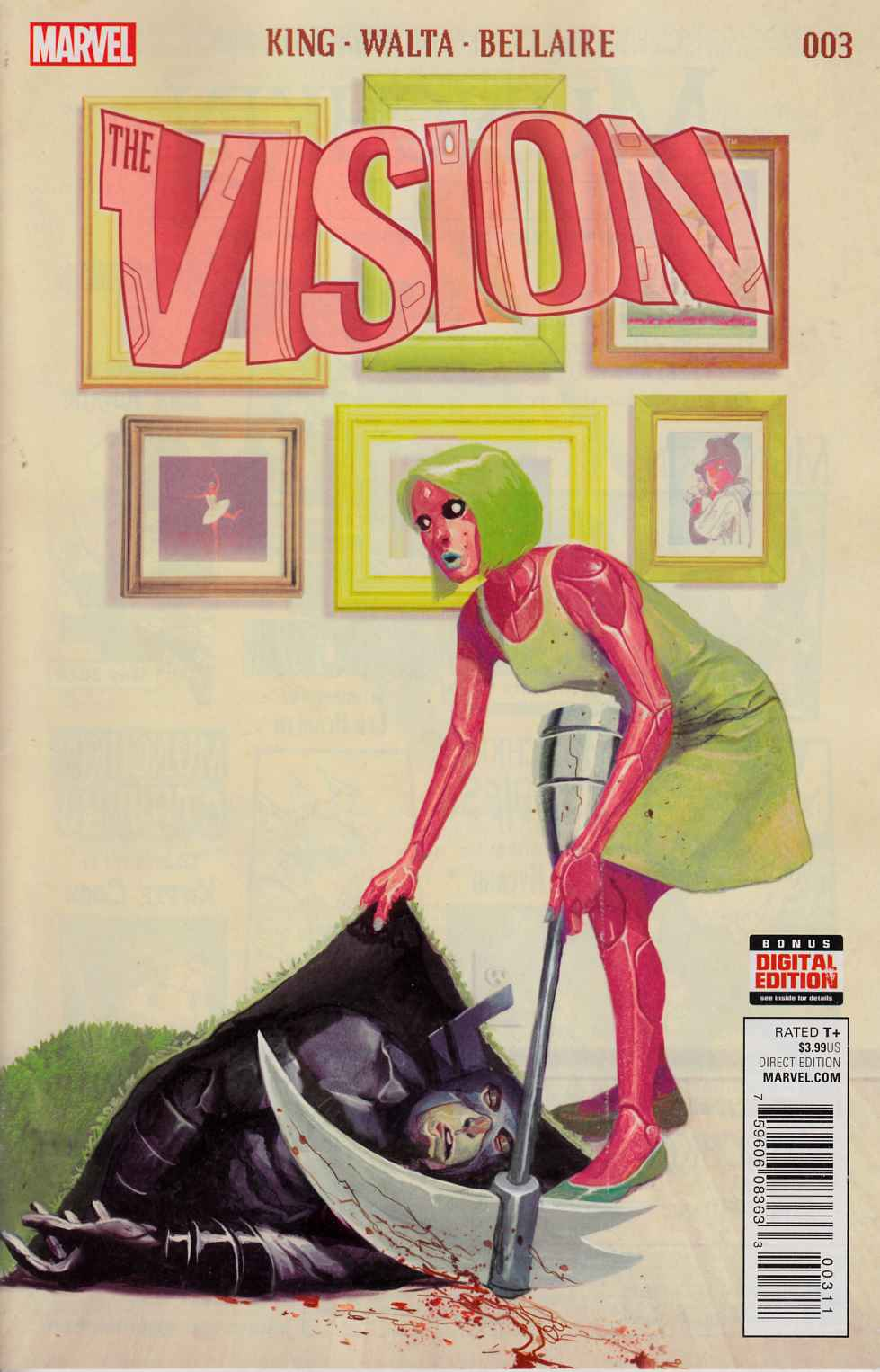 Vision #3 [Marvel Comic] THUMBNAIL
