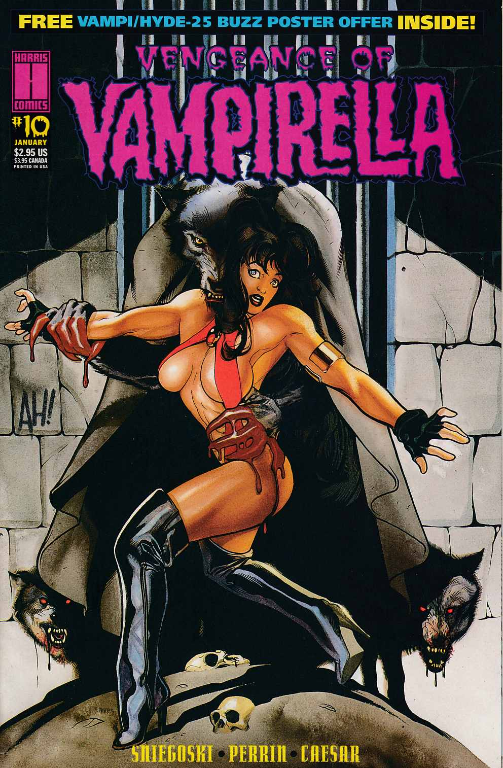 Vengeance of Vampirella #10 Very Fine (8.0) [Harris Comic] THUMBNAIL