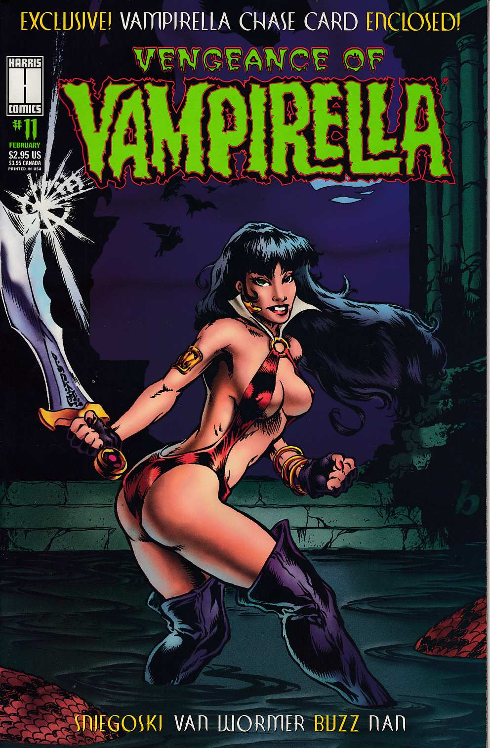 Vengeance of Vampirella #11 Very Fine (8.0) [Harris Comic] THUMBNAIL