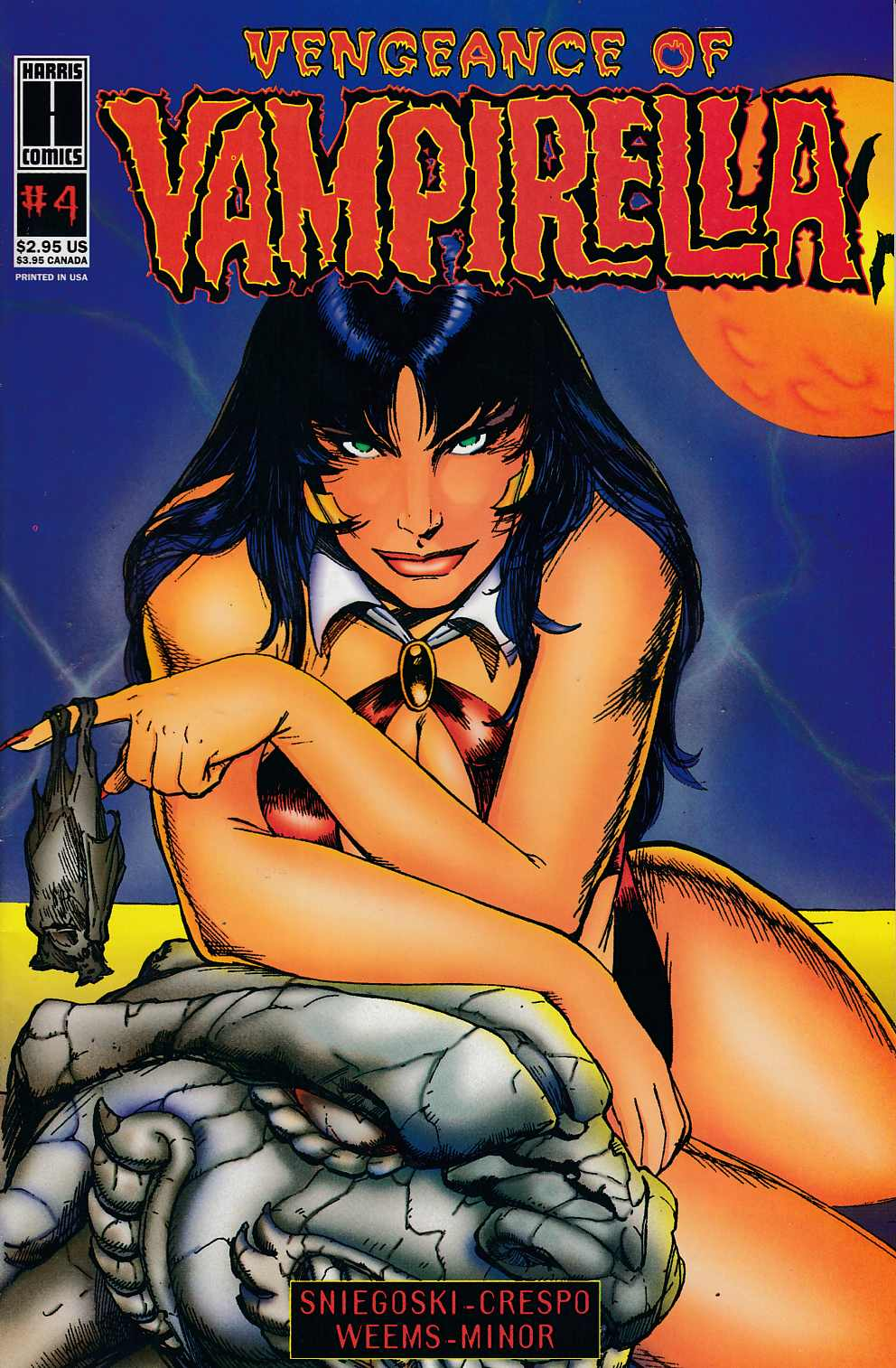 Vengeance of Vampirella #4 Very Fine (8.0) [Harris Comic] THUMBNAIL
