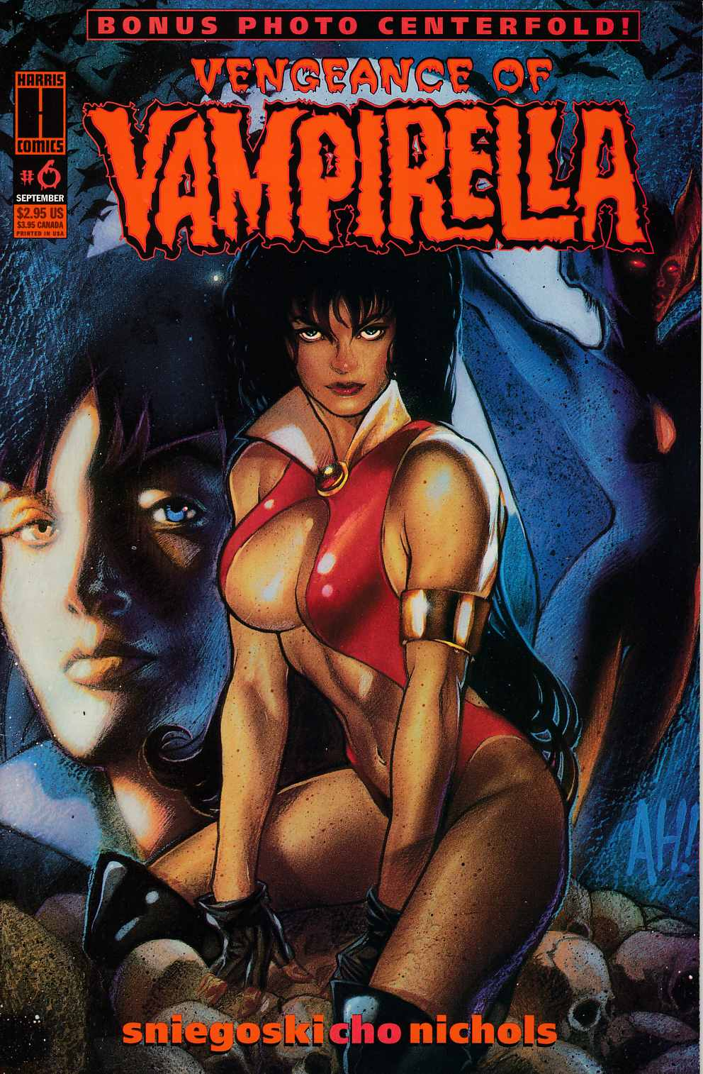 Vengeance of Vampirella #6 Very Fine (8.0) [Harris Comic] THUMBNAIL