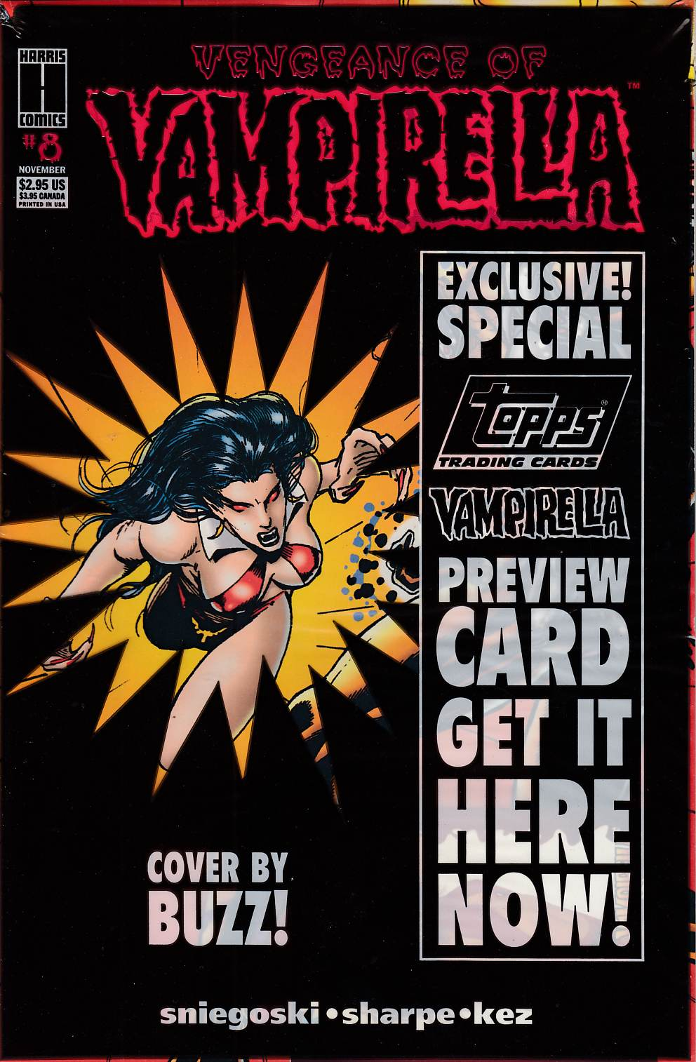 Vengeance of Vampirella #8 Very Fine (8.0) [Harris Comic] THUMBNAIL
