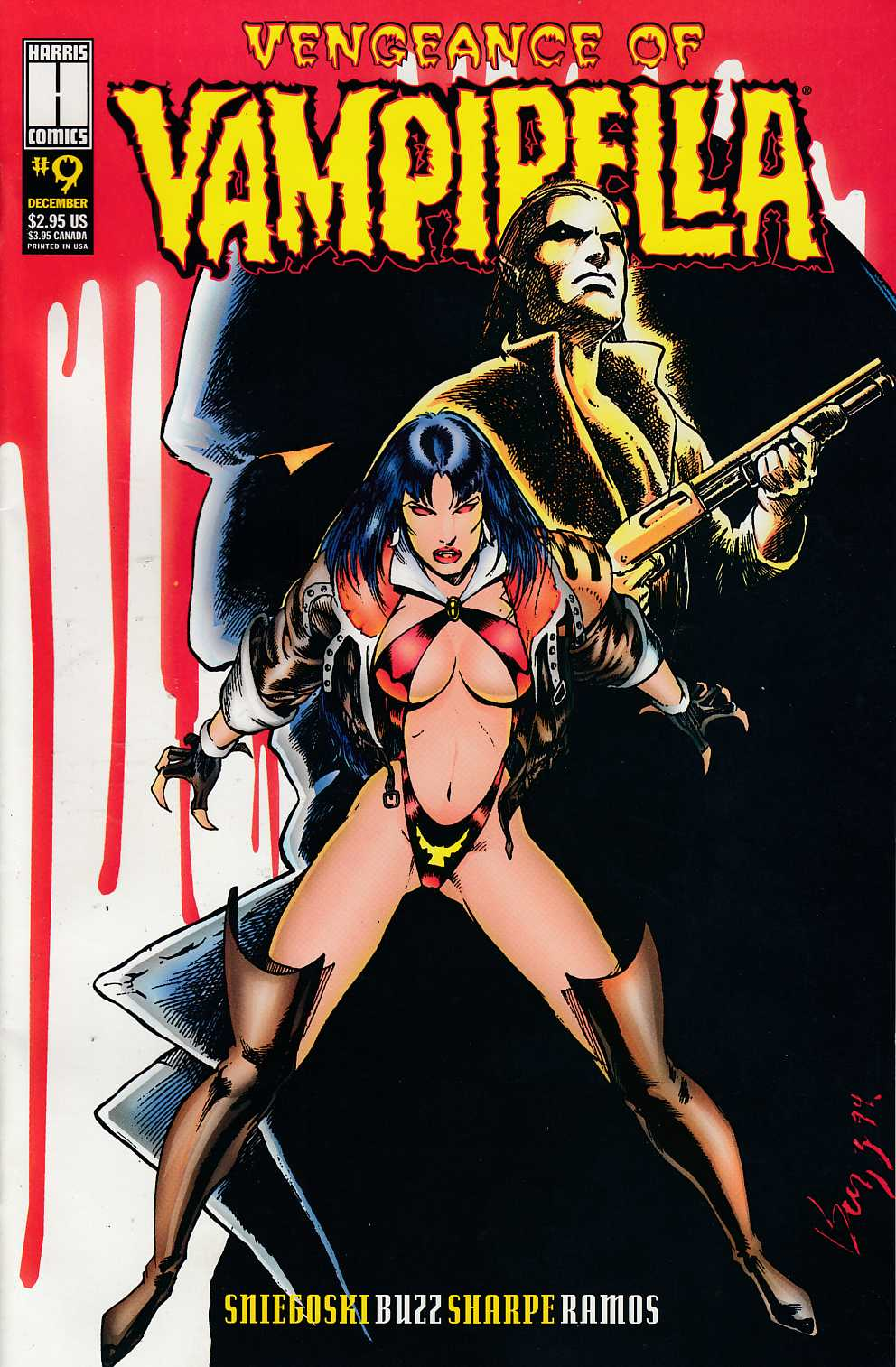 Vengeance of Vampirella #9 Very Fine (8.0) [Harris Comic] THUMBNAIL