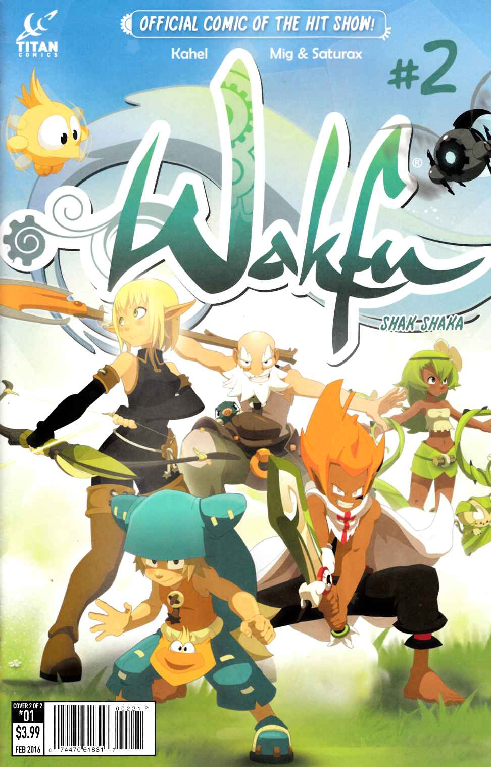 Wakfu #2 Subscription Cover [Titan Comic] THUMBNAIL
