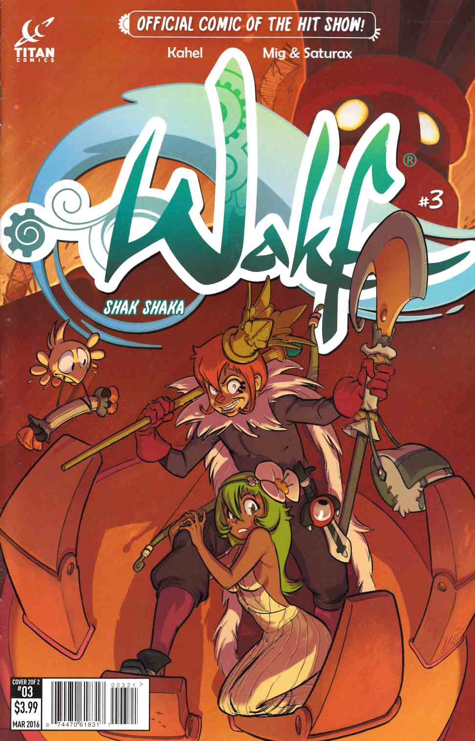 Wakfu #3 Subscription Cover [Titan Comic] THUMBNAIL