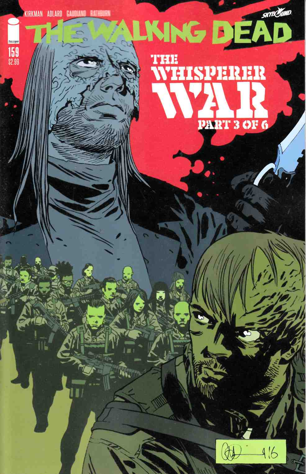 Walking Dead #159 Cover A [Image Comic] LARGE