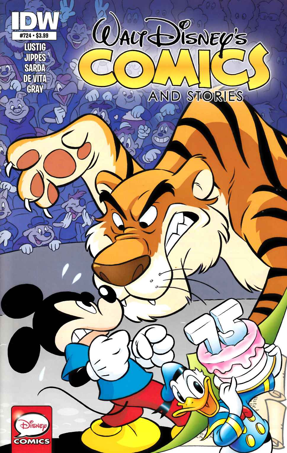 Walt Disney Comics & Stories #724 [IDW Comic] LARGE