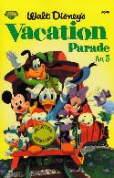 Walt Disneys Vacation Parade #5 [Comic] THUMBNAIL