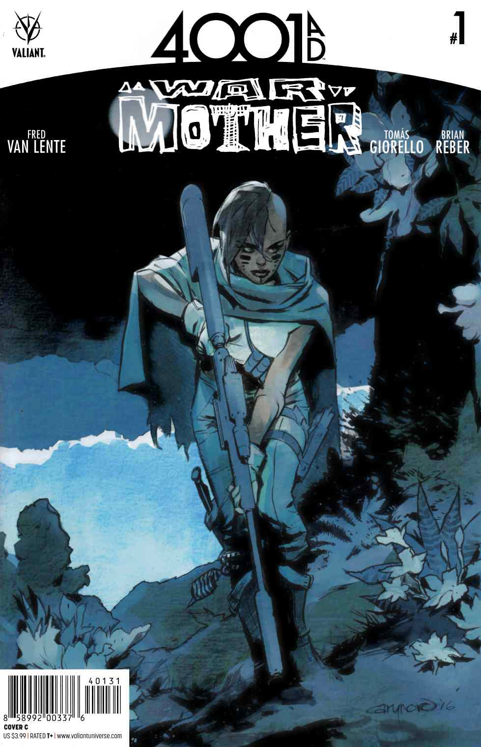 4001 AD War Mother #1 Cover C [Valiant Comic] LARGE