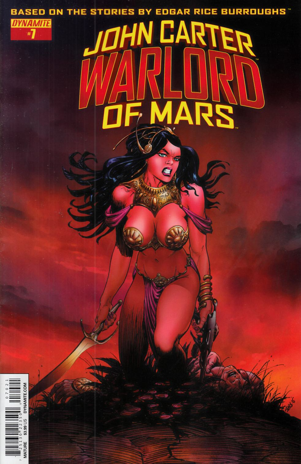 John Carter Warlord #7 Cover B- Sears [Dynamite Comic] THUMBNAIL