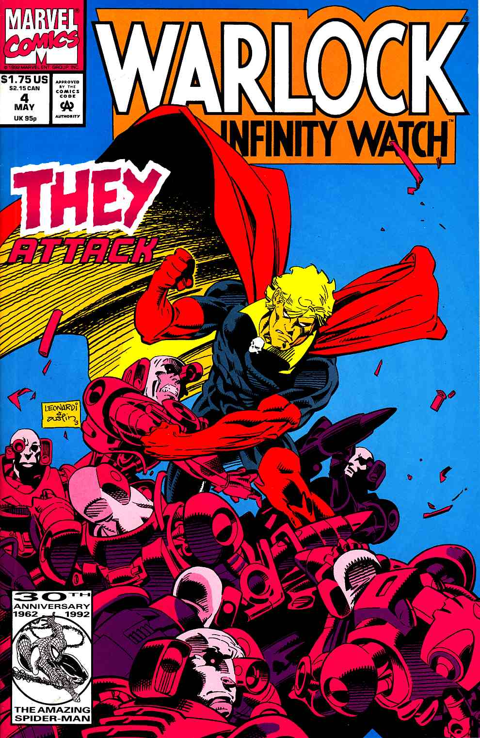 Warlock and the Infinity Watch #4 [Marvel Comic] LARGE