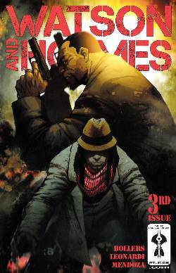 Watson And Holmes #3 Cover C- Ryan Benjamin Incentive [Comic] LARGE