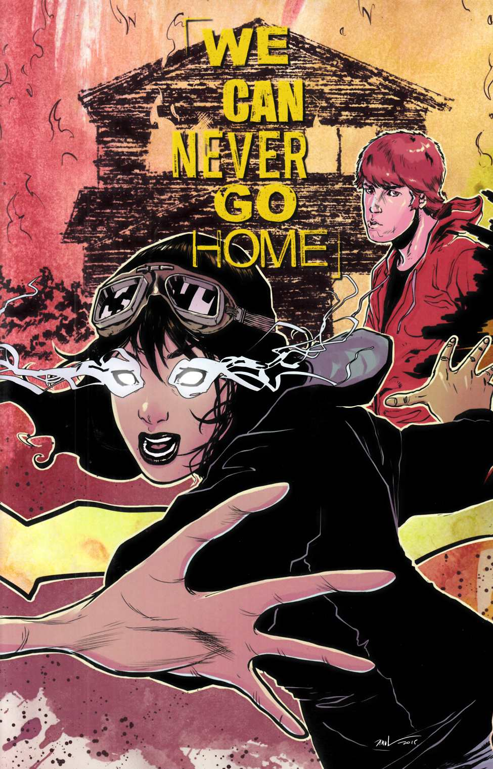 We Can Never Go Home #1 LCSD Exclusive Cover [Black Mask Comic] THUMBNAIL