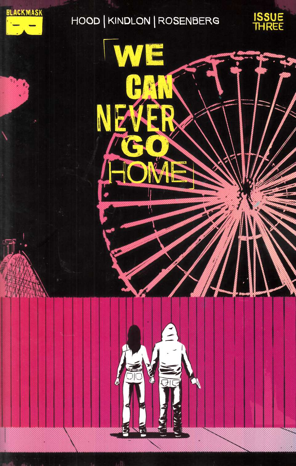 We Can Never Go Home #3 Second Printing [Black Mask Comic] THUMBNAIL