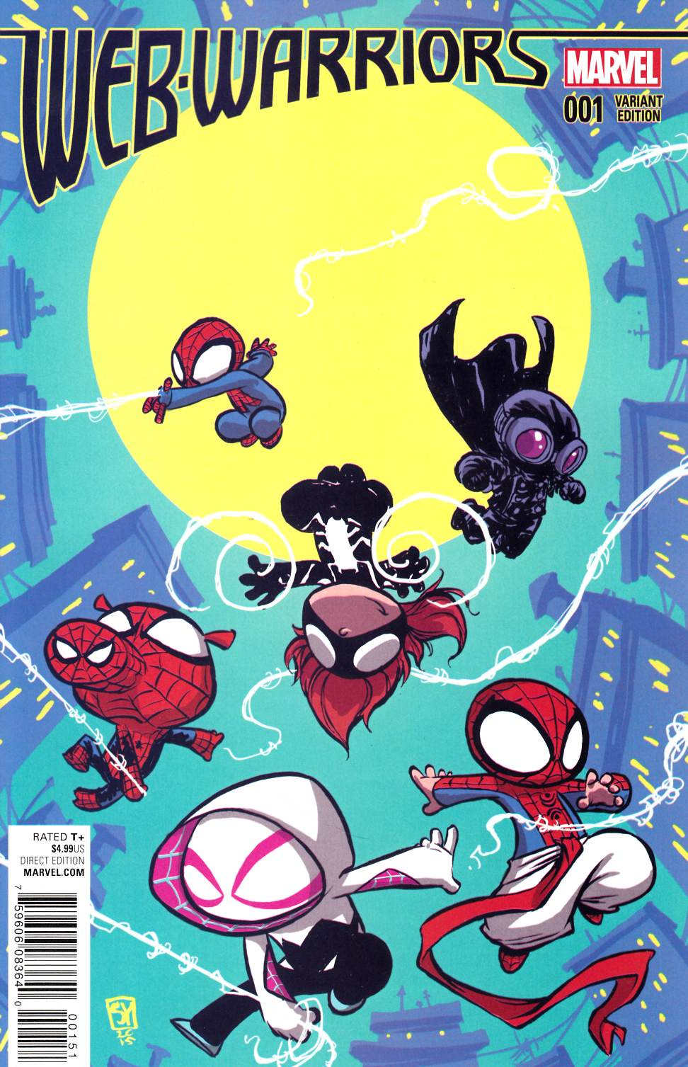Web Warriors #1 Young Baby Cover [Marvel Comic] THUMBNAIL